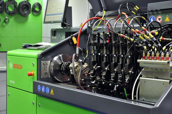 Reparación y venta de sistemas de inyección diesel
